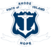 State Logo Blue and White